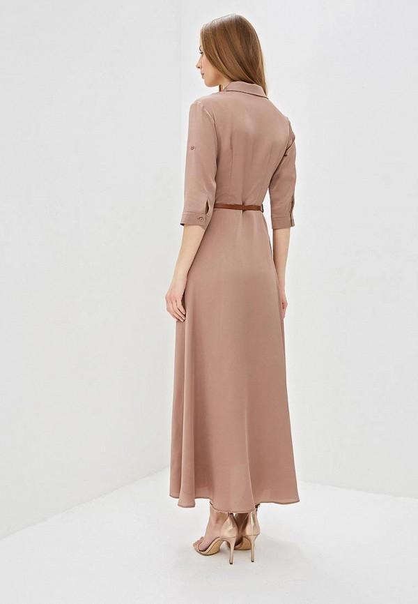 Фото 3 - женское платье TrendyAngel бежевого цвета