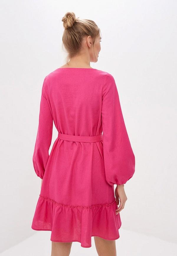 Фото 3 - женское платье TrendyAngel розового цвета