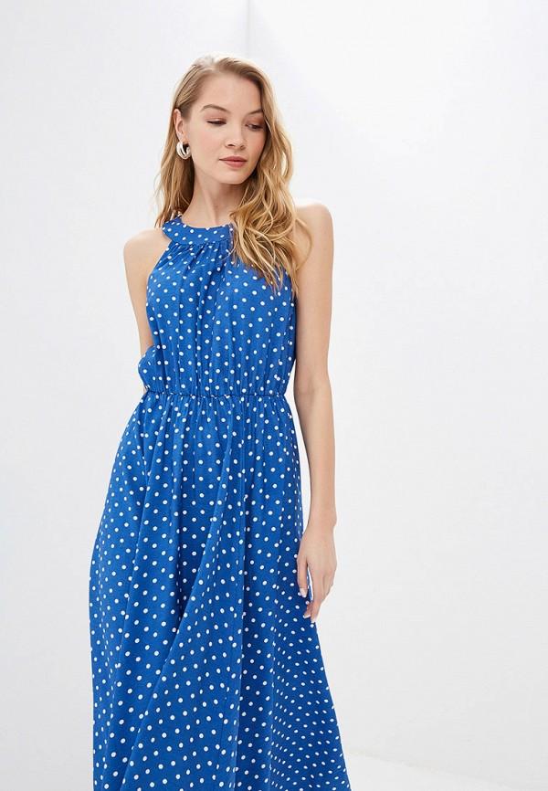 Фото 2 - женское платье TrendyAngel синего цвета