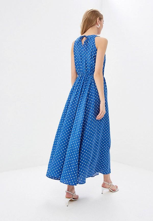 Фото 3 - женское платье TrendyAngel синего цвета