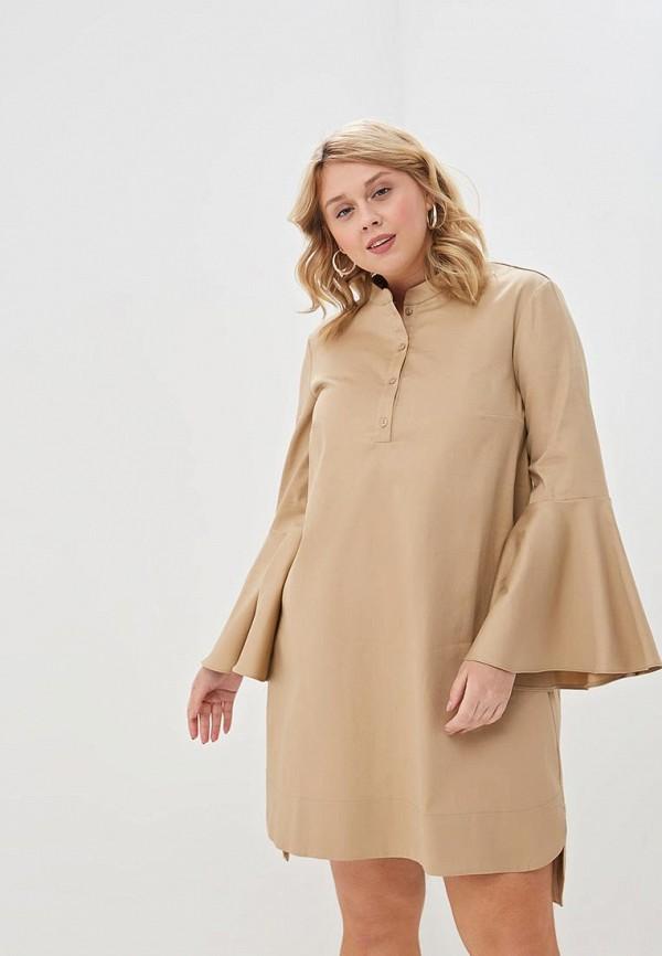 женское повседневные платье trendyangel, бежевое