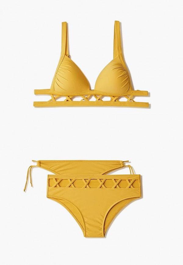 женский купальник trendyangel, желтый