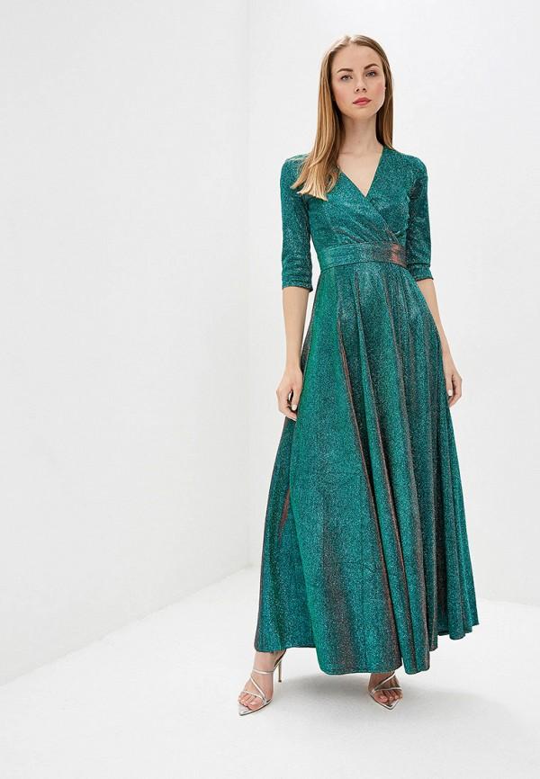 женское вечерние платье trendyangel, зеленое