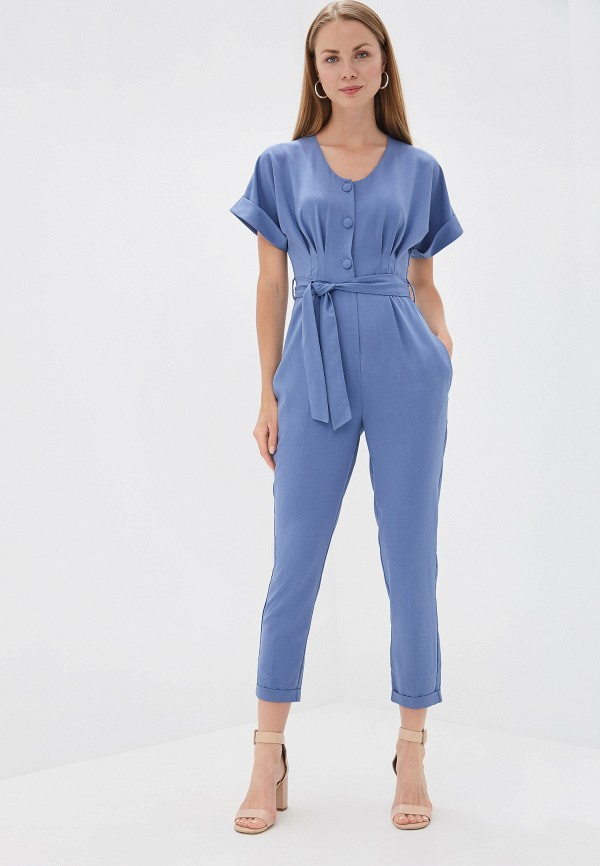 Фото - женский комбинезон TrendyAngel синего цвета