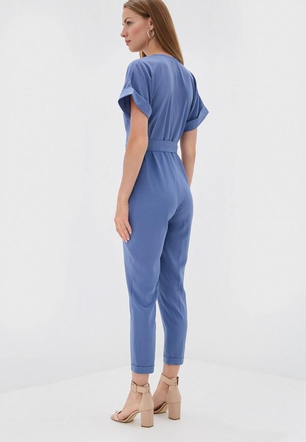 Фото 3 - женский комбинезон TrendyAngel синего цвета