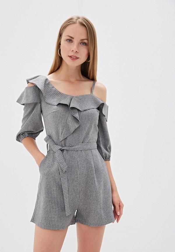 женский комбинезон trendyangel, серый