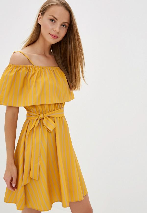 женское повседневные платье trendyangel, оранжевое