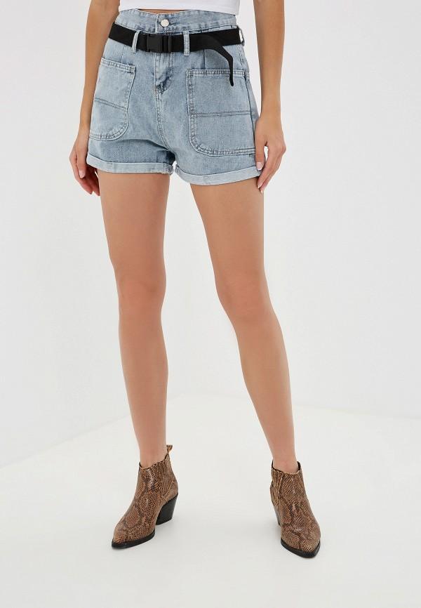 женские шорты trendyangel, синие