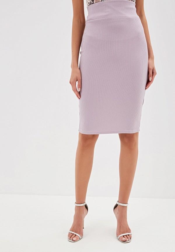 Фото - Женскую юбку TrendyAngel розового цвета
