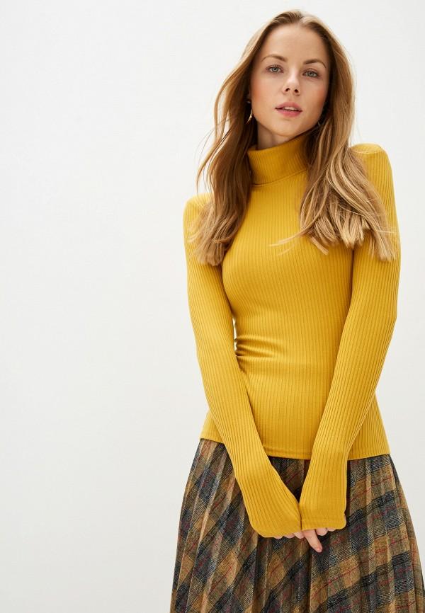 женская водолазка trendyangel, желтая