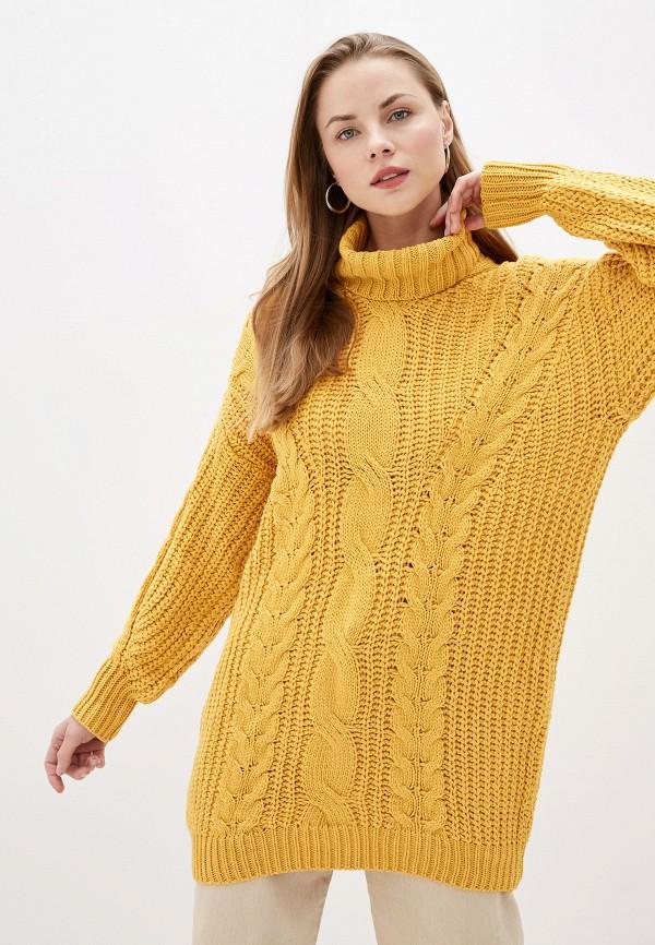 женский свитер trendyangel, желтый