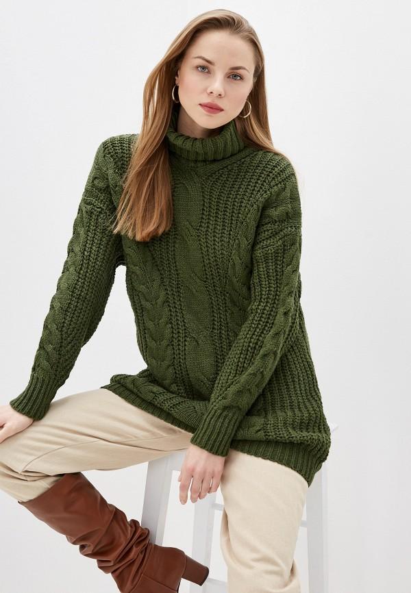 женский свитер trendyangel, зеленый