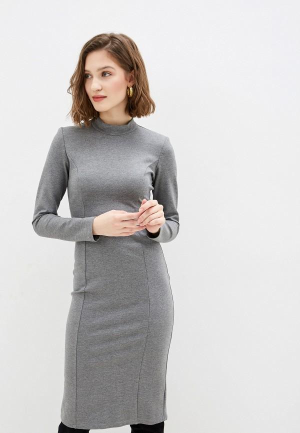женское повседневные платье trendyangel, серое