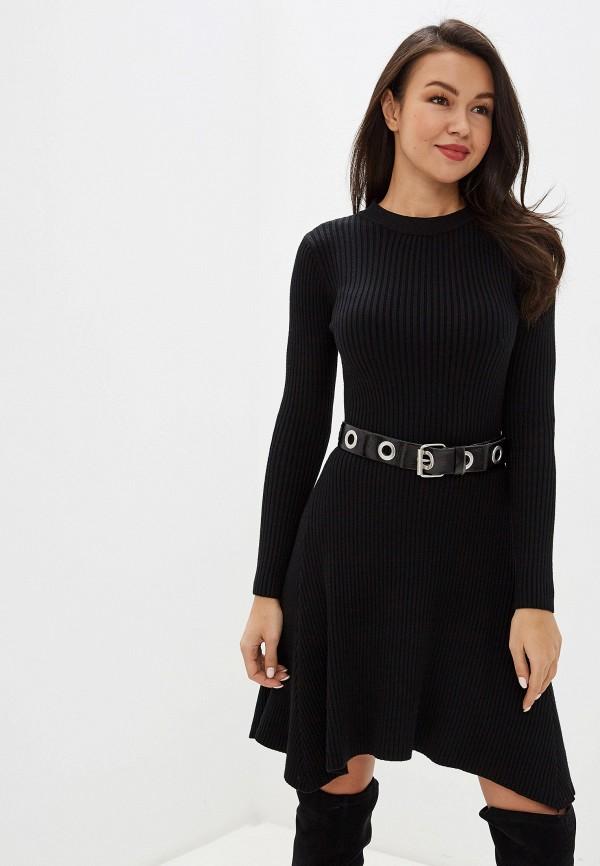 женское повседневные платье trendyangel, черное