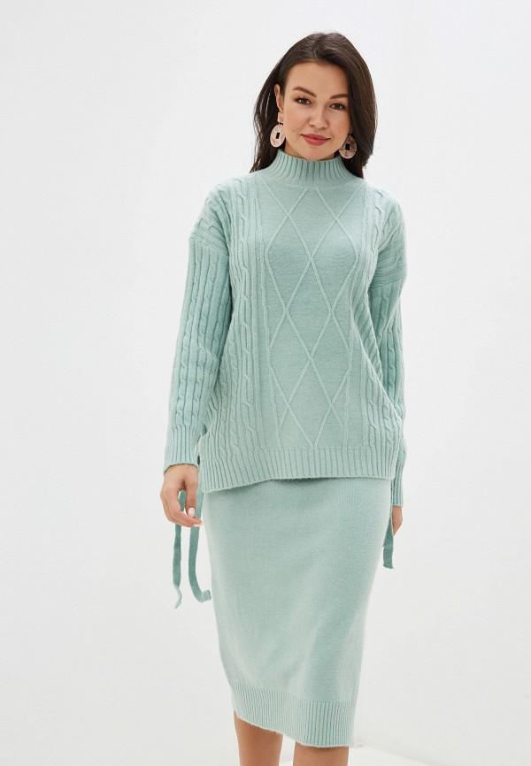 женский костюм trendyangel, бирюзовый