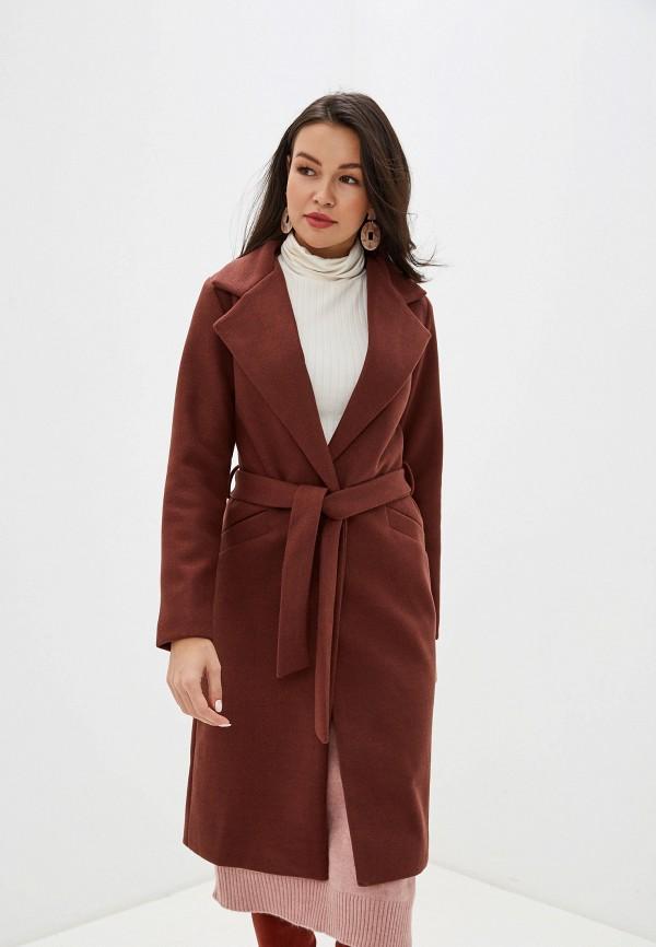 женское пальто trendyangel, бордовое