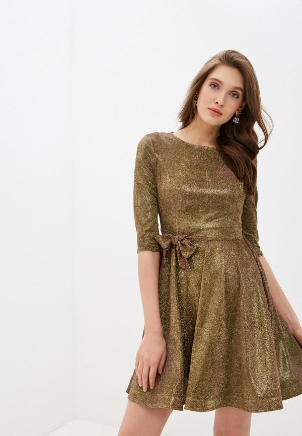 женское вечерние платье trendyangel, золотое