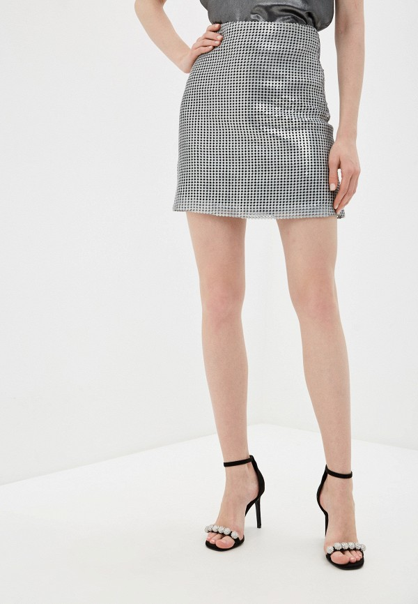 женская юбка trendyangel, серебряная