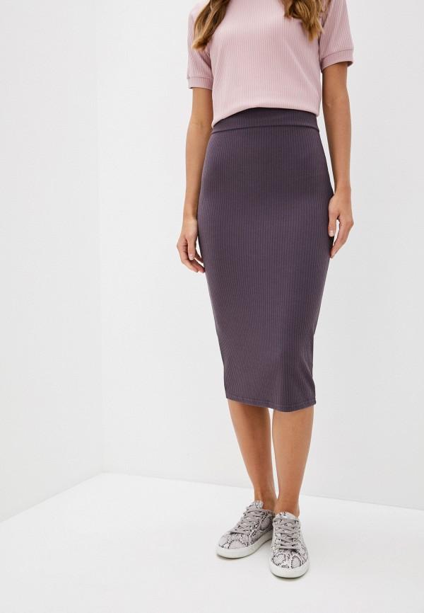 женская зауженные юбка trendyangel, фиолетовая