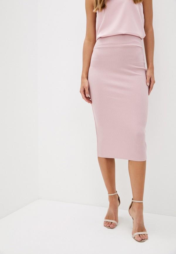 женская зауженные юбка trendyangel, розовая