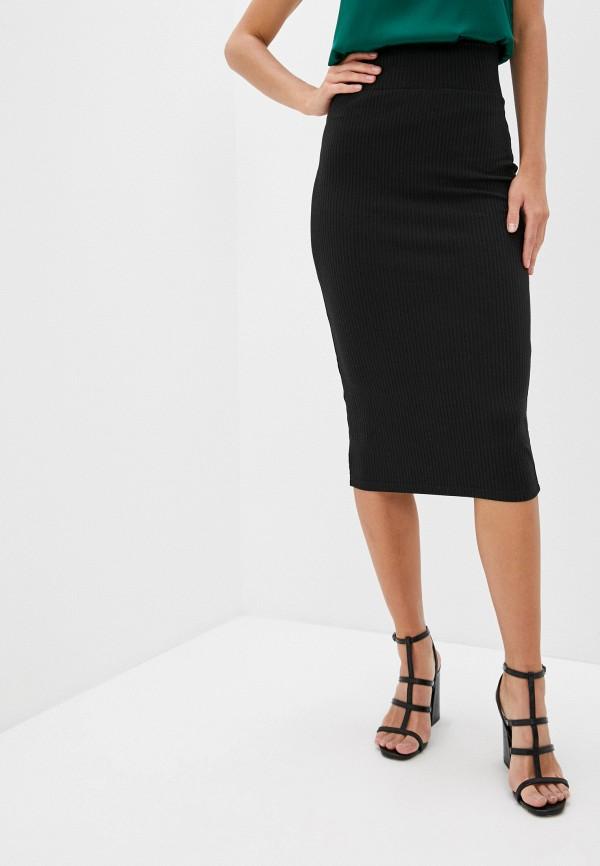 женская зауженные юбка trendyangel, черная