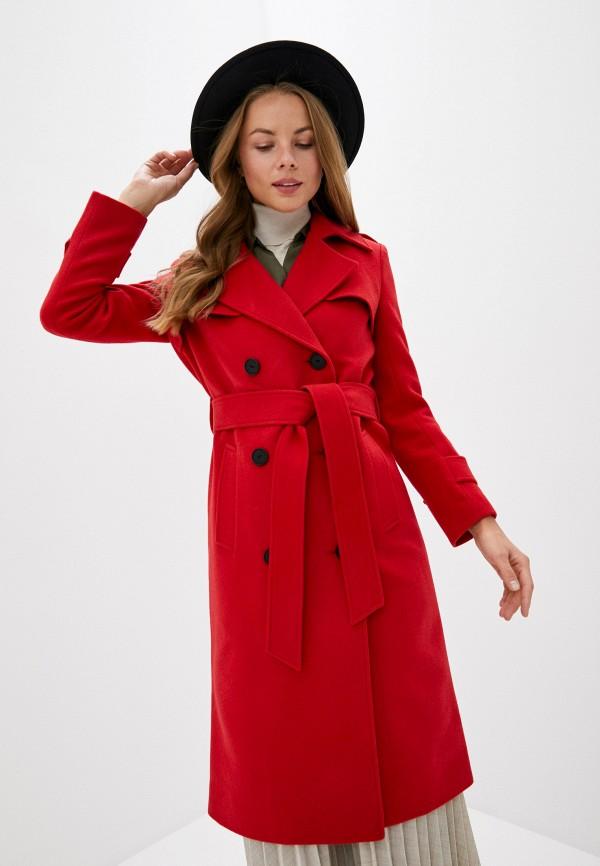 женское пальто trendyangel, красное