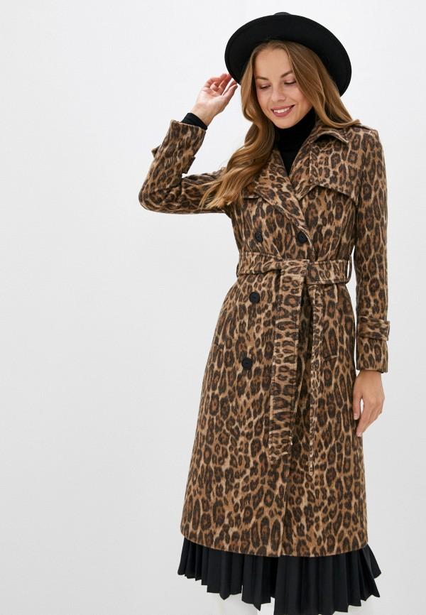 женское пальто trendyangel, коричневое