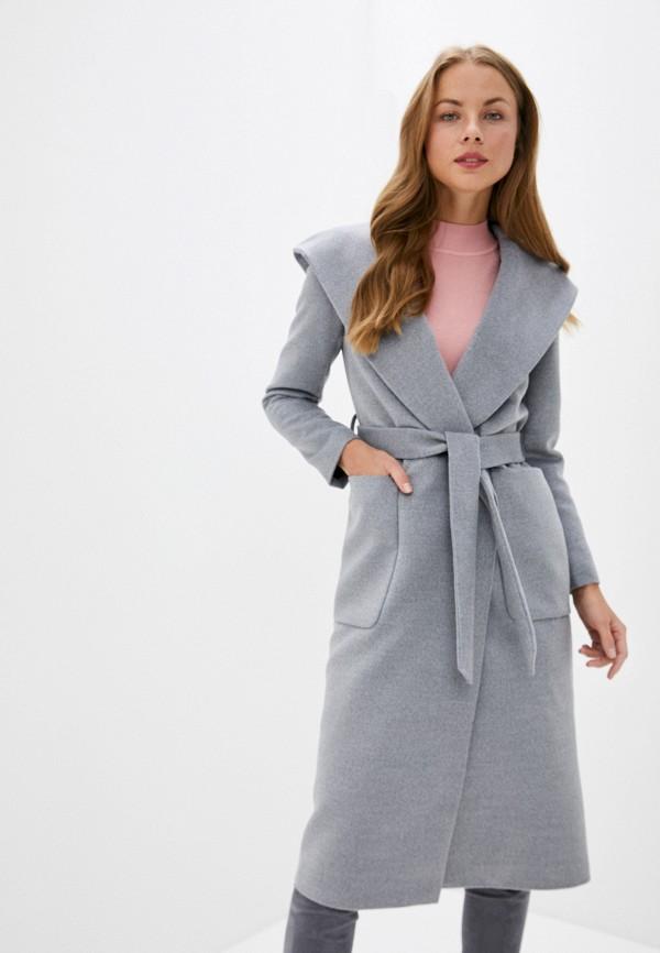 женское пальто trendyangel, серое