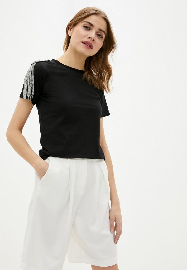 женская футболка trendyangel, черная