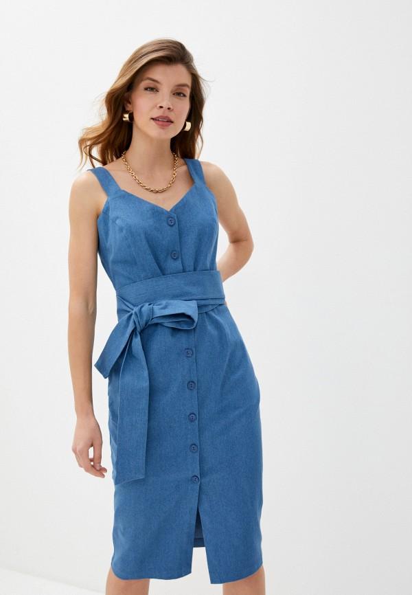 женский сарафан trendyangel, голубой