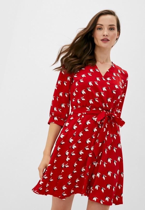женское повседневные платье trendyangel, красное