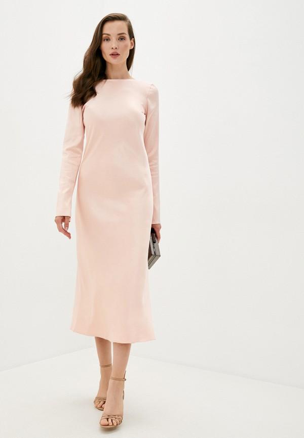 женское вечерние платье trendyangel, розовое
