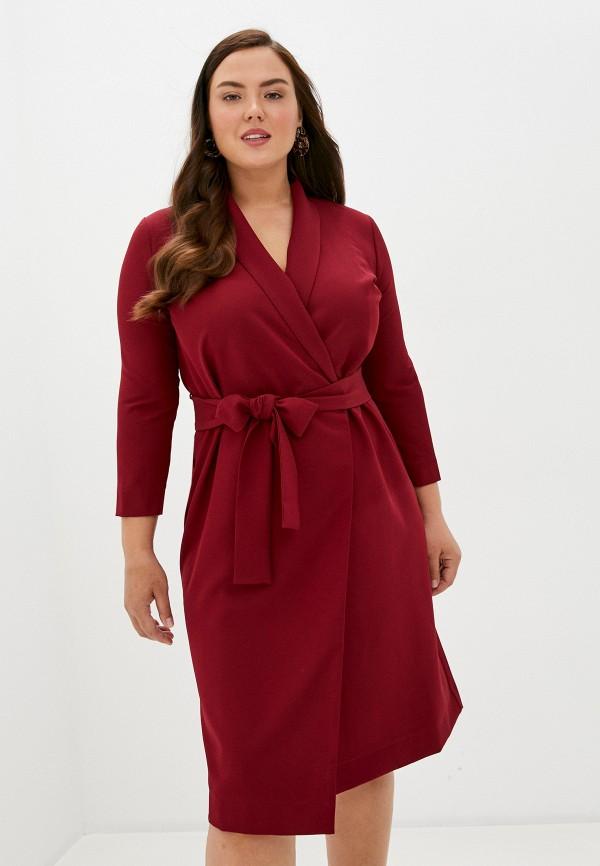 женское платье trendyangel, бордовое