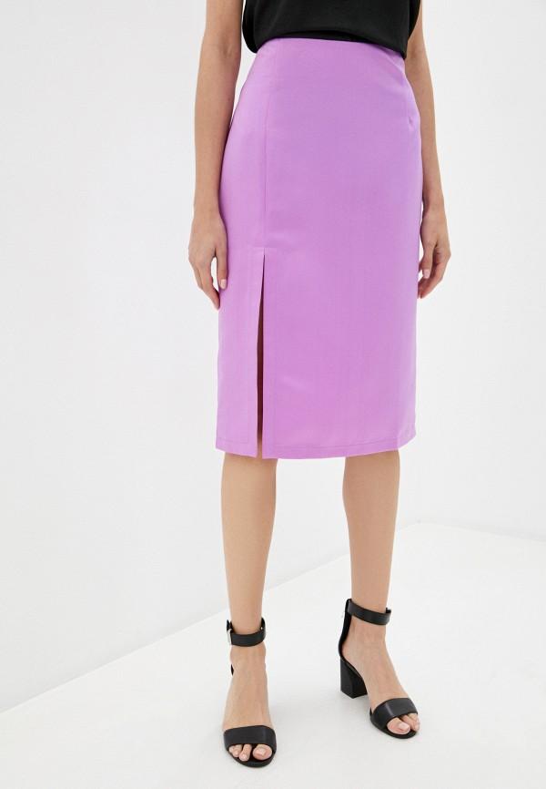 женская прямые юбка trendyangel, фиолетовая