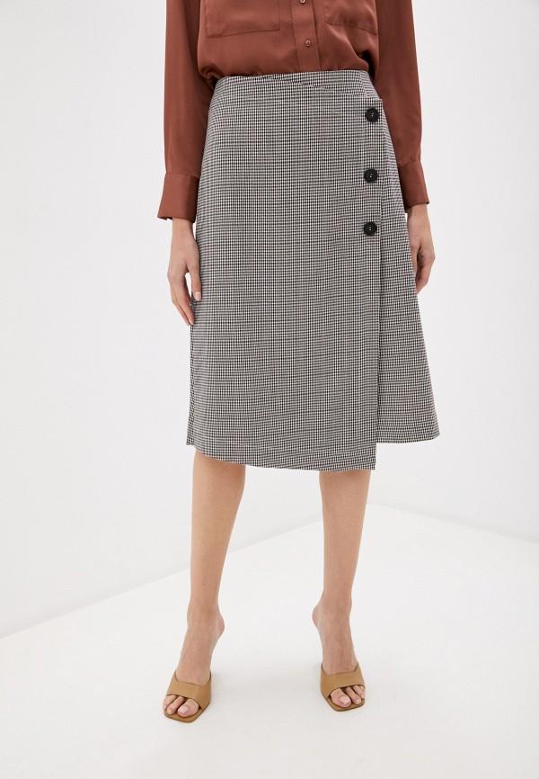 женская прямые юбка trendyangel, коричневая