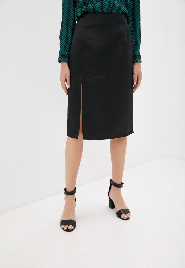 женская прямые юбка trendyangel, черная
