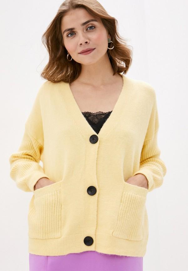 женский кардиган trendyangel, желтый