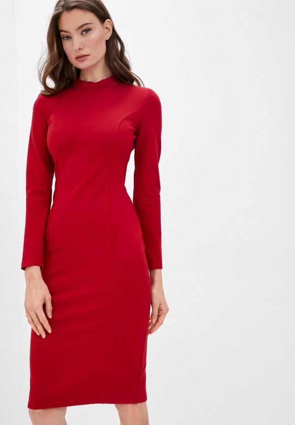 женское платье-футляр trendyangel, красное