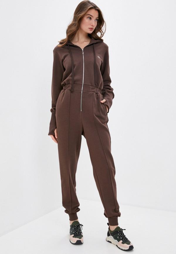 женский спортивные комбинезон trendyangel, коричневый