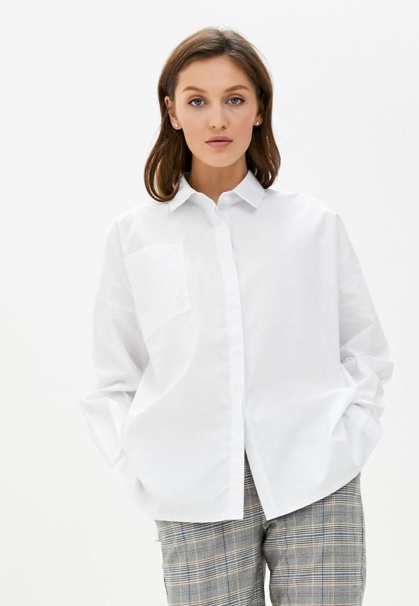 женская рубашка с длинным рукавом trendyangel, белая