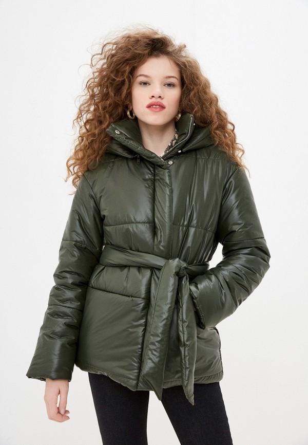 женская куртка trendyangel, зеленая