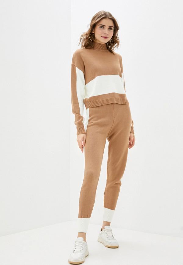 женский костюм trendyangel, коричневый
