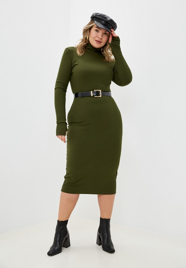 женское платье trendyangel, хаки