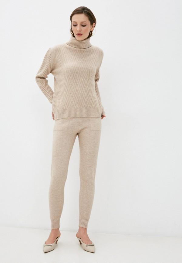 женский вязаные костюм trendyangel, бежевый