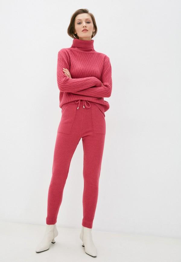 женский вязаные костюм trendyangel, розовый