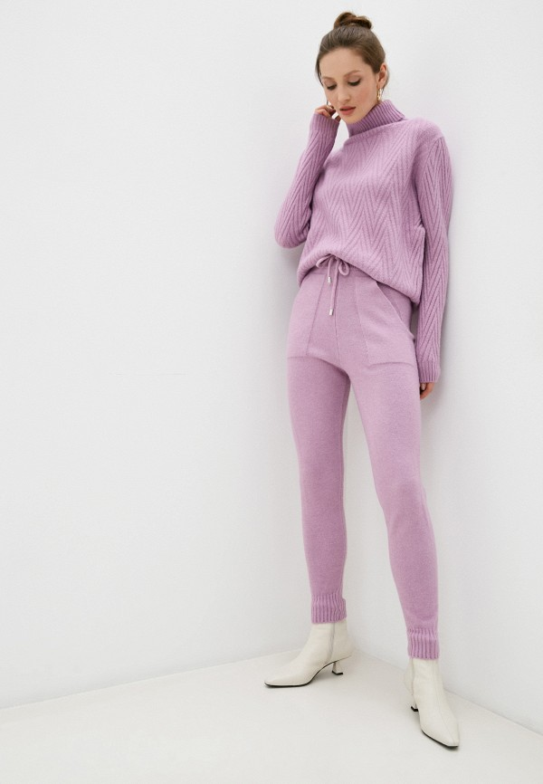 женский вязаные костюм trendyangel, фиолетовый