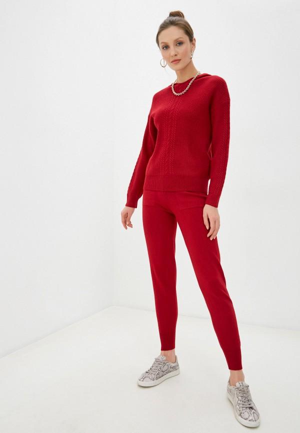 женский вязаные костюм trendyangel, бордовый