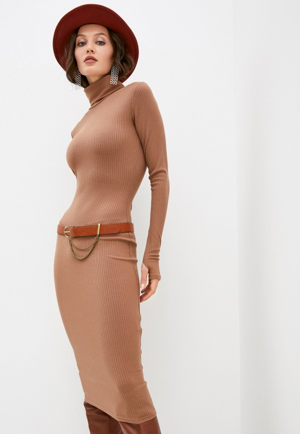 женское платье trendyangel, бежевое