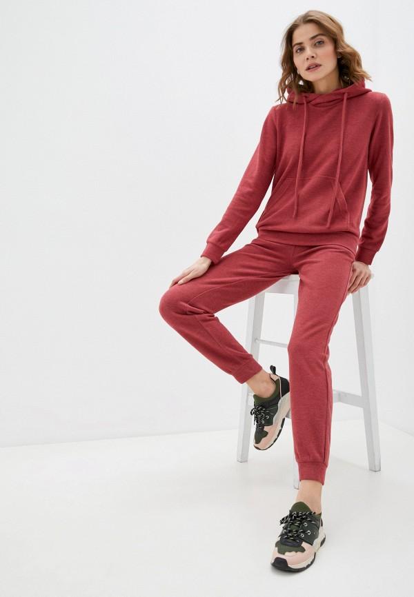 женский спортивный костюм trendyangel, бордовый