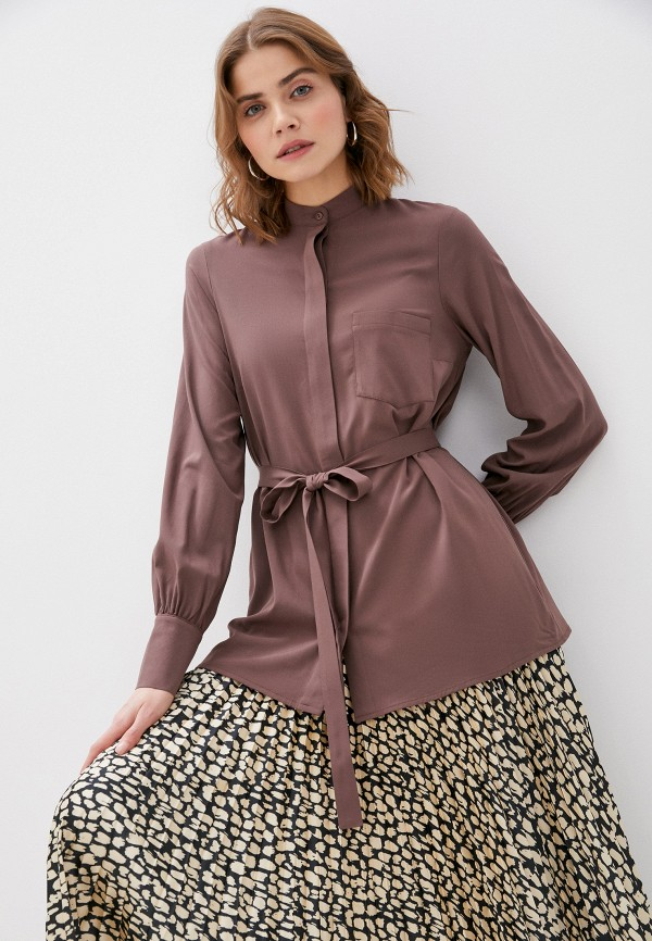 женская блузка trendyangel, коричневая